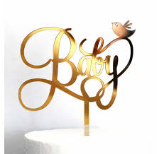 acrylic cake toppers baby and bird acrylic cake topper lollipop cake supplies