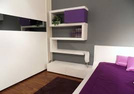 modern bedroom decorating ideas modern bedroom decor with wall shelves