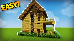 build a house minecraft amazing survival starter house tutorial how to build
