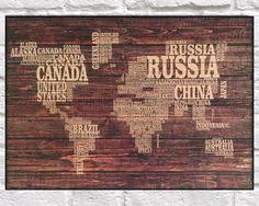 wood print wood map rustic wood print amsterdam city map