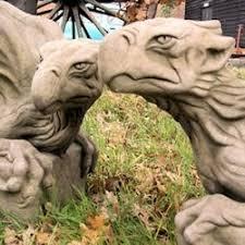 gargoyles griffin garden ornaments statues