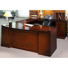 realspace broadstreet executive u shaped office desk with matching