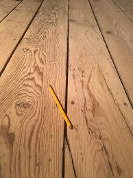 Laminate Floor Gaps Restoring Old Plank Flooring 1800 U0027s Cottage Album On Imgur