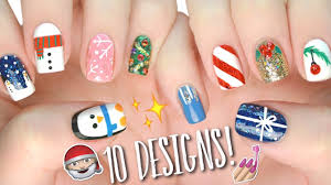 10 easy nail art designs for christmas the ultimate guide 4
