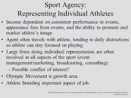 sports agent job description sports agency chapter 11 introduction many sport agencies began