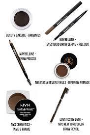 best brow products jasmine maria
