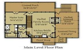 Small Mountain Cabin Floor Plans by Floor Small Mountain Cabin Floor Plans