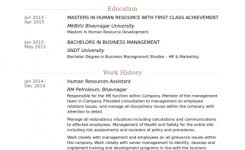 standard resume format sample resume cv cover letter within