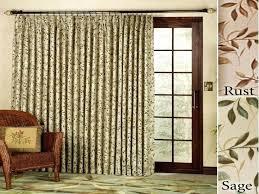 Grommet Curtains For Sliding Glass Doors Stupendous Wonderfull Grommet Drapes For Sliding Glass Door