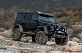 mercedes g class blacked out exclusive mercedes benz g500 4x4 review gtspirit
