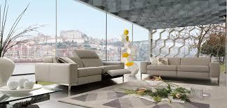 canapé en cuir contemporain roche bobois calisto grand canapé 3 places roche bobois