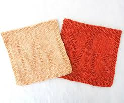 wedding gift knitting patterns 133 best dishcloth patterns letters numbers images on