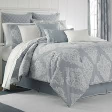 Blue Bed Set Ansonia Sterling Blue Comforter Bedding By Piper U0026 Wright