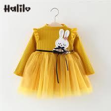 aliexpress com buy halilo winter dress baby long sleeve