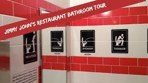 restaurant bathroom design jimmy john u0027s restaurant bathroom tour youtube