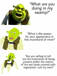 Wet Girl Meme - be more specific shrek girl meme and more here a href https
