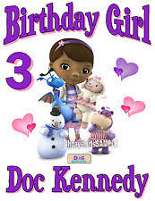 doc mcstuffins birthday custom personalized doc mcstuffins birthday t shirt party favor