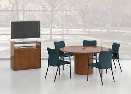National Waveworks Reception Desk with Clever Tables National Office Furniture