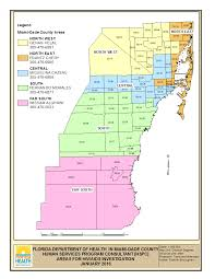 South Florida County Map by Hiv Surveillance Florida Department Of Health In Miami Dade