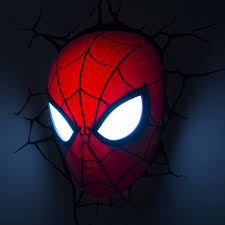 spiderman face licensed