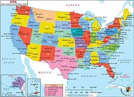 map of usa states and capitals and major cities 48 best usa maps images on usa maps geography and top ten