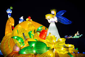 festival of light birmingham magic lantern festival lights up roundhay the gryphon