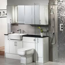 Bathroom Furniture White Vetro White Gloss Fitted Bathroom Furniture Roper