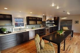 long kitchens contemporary remodel old denver ranch contemporary kitchen