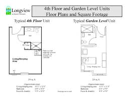 250 Square Foot Apartment Floor Plan by Enhanced Assisted Living Housing Options Longview