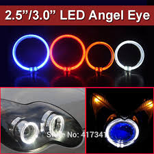 high quality led lights high quality led light guide angel eye ring 3 0 inches halo rings