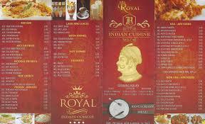 indian cuisine menu royal indian cuisine spiauv com