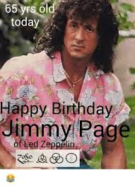 65 yrs today happy birthday jimmy led ze lin