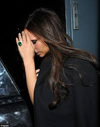 Victoria Beckham Wedding Ring by Victoria Beckham Celebrates Her 40th With Close Circle Until 2am