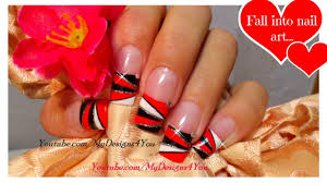 red nails geometric nail art triangle nail design