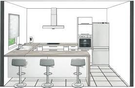 cuisine projet dimension ilot central cuisine ctpaz solutions à la maison 3 jun