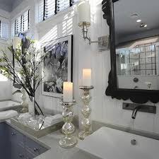Glass Bathroom Accessories Sets Mercury Glass Bathroom Accessories Design Ideas