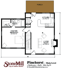 pinehurst floor plan stonemill log u0026 timber homes