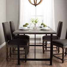 overstock dining room tables carbon loft renate dining table free shipping today overstock