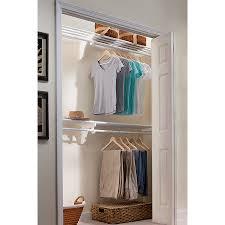shop ez shelf 3 33 ft to 12 33 ft white adjustable mount wire