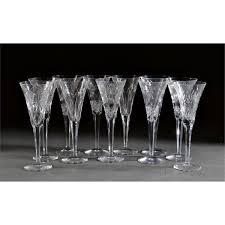 11 waterford millennium chagne flutes