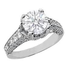 vintage engagement ring settings only vintage engagement rings settings only jewerly ideas gallery