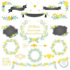 wedding flowers clipart floral clipart flower clipart wedding clipart yellow flowers