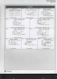 the wiring diagram for reversing a 110 v electric motor with a six