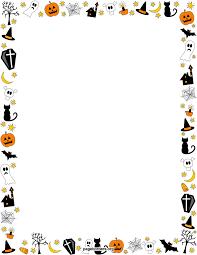 transparent halloween borders u2013 fun for halloween