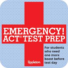 have you put off studying appleton u0027s emergency act sat test prep