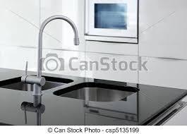 robinet cuisine moderne robinet moderne noir four blanc cuisine robinet