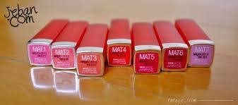 maybelline bold matte i loved this image of bold matte pantip