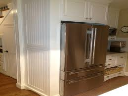 Kitchen Cabinets Refrigerator Surround by Cabin Remodeling Cabinets Around Refrigerator Built In Cabinet