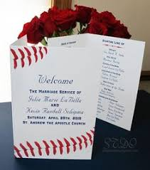 baseball wedding invitations the wording for the programs especially the retired