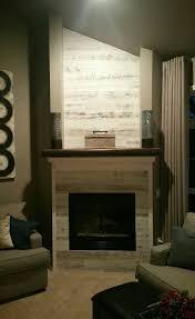 stikwood fireplace makeover living room pinterest wood